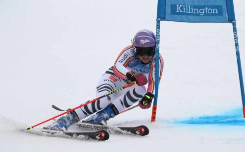 Viktoria Rebensburg AUDI FIS SKI WORLD CUP 2016 / 2017 2nd LADIES Giant Slalom Viktoria Rebensburg Copyright by Sammy Minkoff