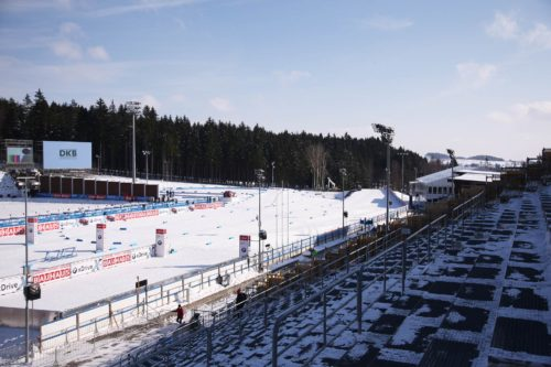 24.01.2015, Sapporo, Japan (JPN): Event Feature: Overview over the grand stand and the finish line - FIS World Cup Nordic Combined, Individual Gundersen, Sapporo (JPN). www.nordicfocus.com. © Manzoni/NordicFocus. Every downloaded picture is fee-liable.