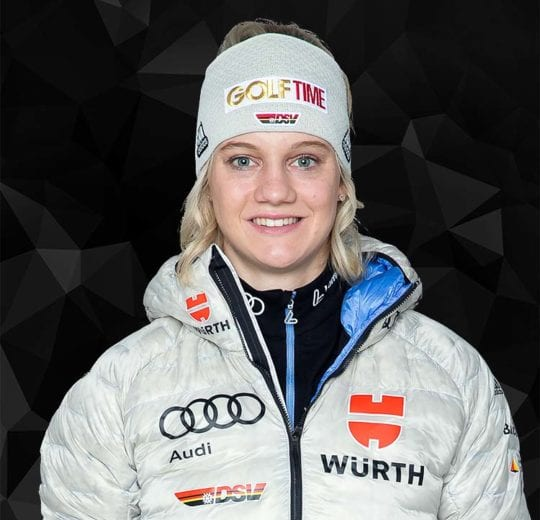 Wintersport Athletin Victoria Carl des DSV