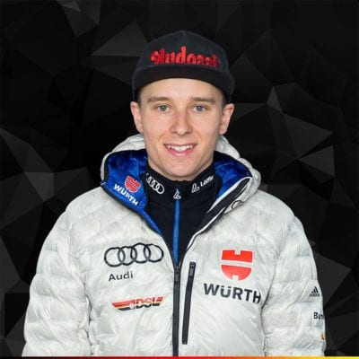 Portrait Terence Weber, Wintersportler des DSV, Deutscher Skiverband
