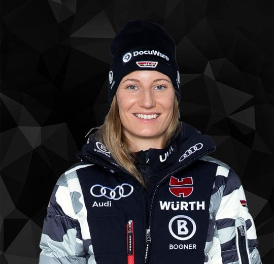 Athletin Lena Dürr, Wintersportlerin des DSV Skiverband Deutschland