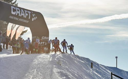 12.12.2015, Davos, Switzerland (SUI): a group of men in the last uphill  - FIS world cup cross-country, 30km men, Davos (SUI). www.nordicfocus.com. © Felgenhauer/NordicFocus. Every downloaded picture is fee-liable.