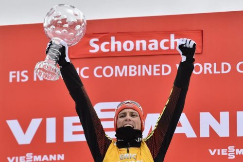 19.03.2017, Schonach, Germany (GER): Eric Frenzel (GER) - FIS world cup nordic combined, cups, Schonach (GER). www.nordicfocus.com. © Thibaut/NordicFocus. Every downloaded picture is fee-liable.