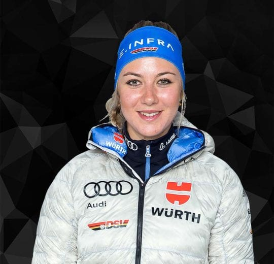 Athletin Nadine Herrmann DSV Wintersportlerin