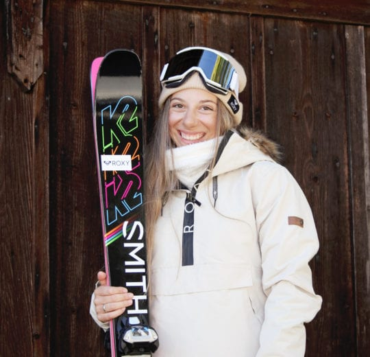 Aliah Eichinger ist DSV Freeski Athletin des DSV