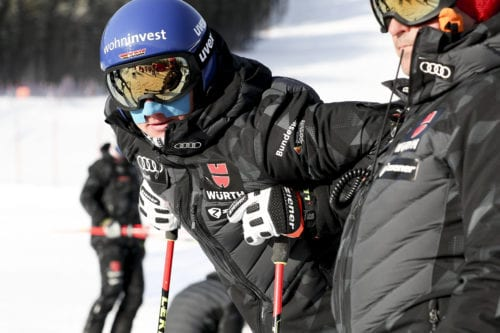 Ski Cross. Image shows Daniel Bohnacker (GER)