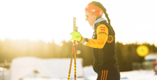 06.12.2019, Lillehammer, Norway (NOR): Katharina Hennig (GER) - FIS world cup cross-country, training, Lillehammer (NOR). www.nordicfocus.com. © Modica/NordicFocus. Every downloaded picture is fee-liable.